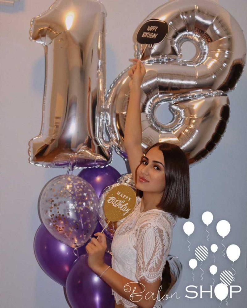 18 rodjendan baloni dekoracija
