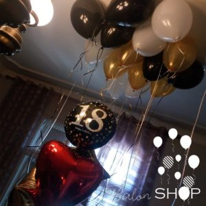 balon na plafonu za 18 rodjendan