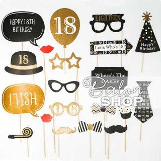 18. rođendan rekviziti za fotografisanje