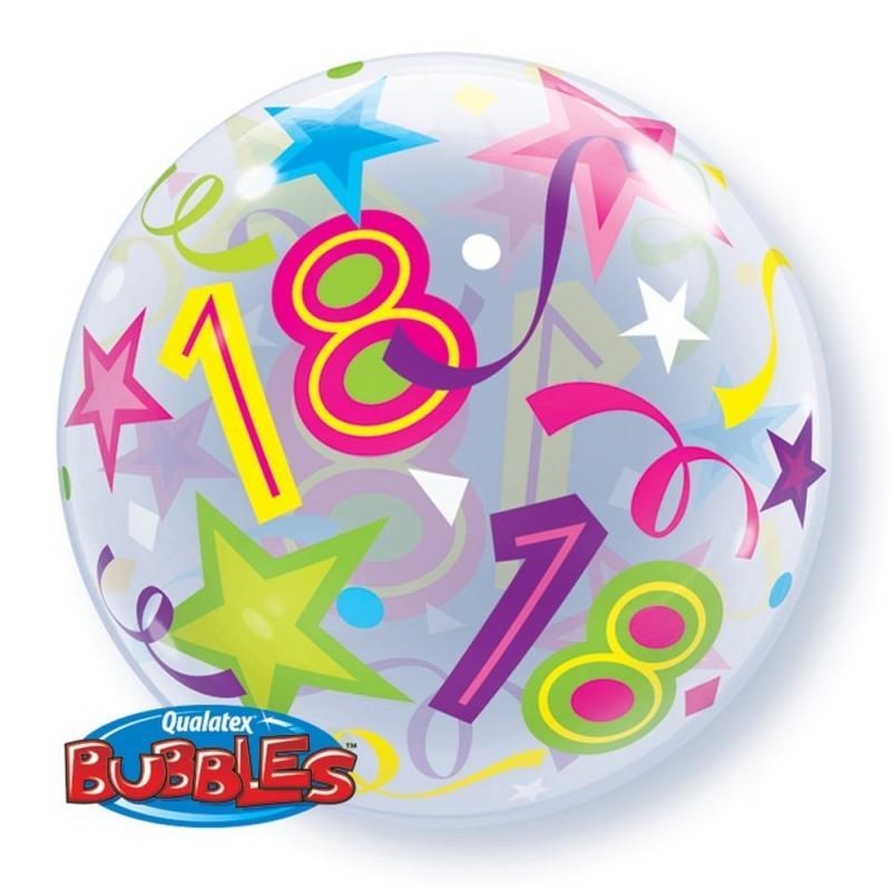 18th sareni bubble balon