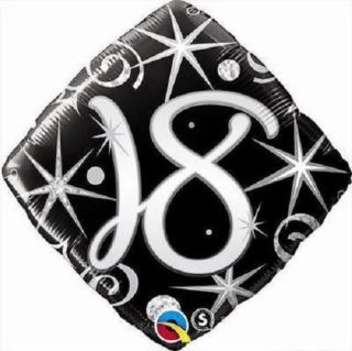 Elegantni balon za 18. rođendan