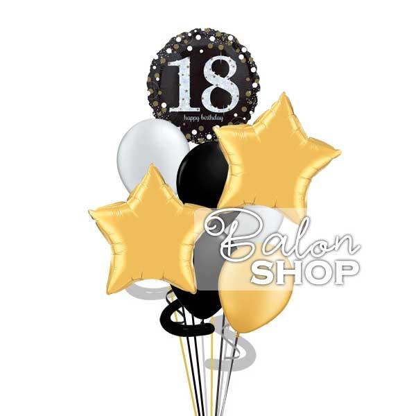 18ti rođendan buket balona