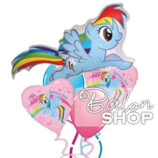 My Little Pony buket balona Plavi