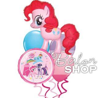 My Little Pony buket balona Roze