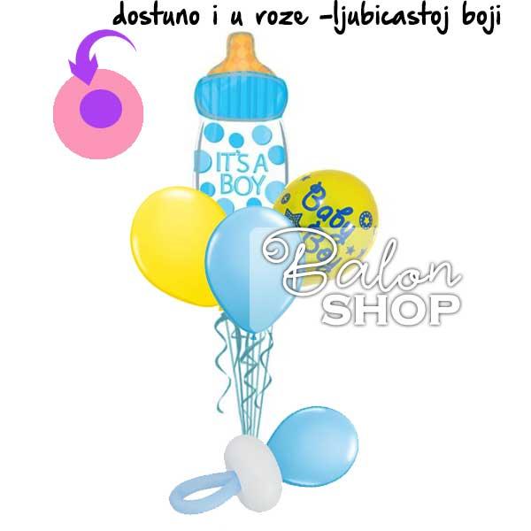 baloni za bebe cucla