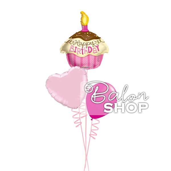 mini roze buket