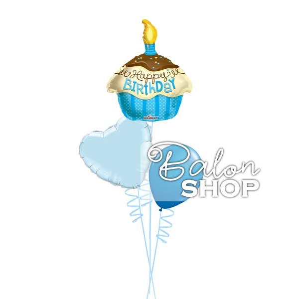 baloni za rodjendan plava tortica