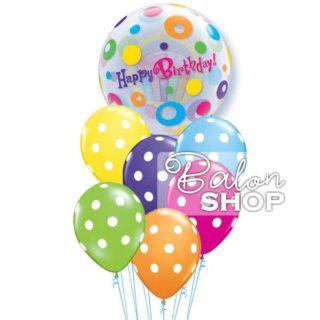 Tufnice sa rođendanskom tortom buket balona