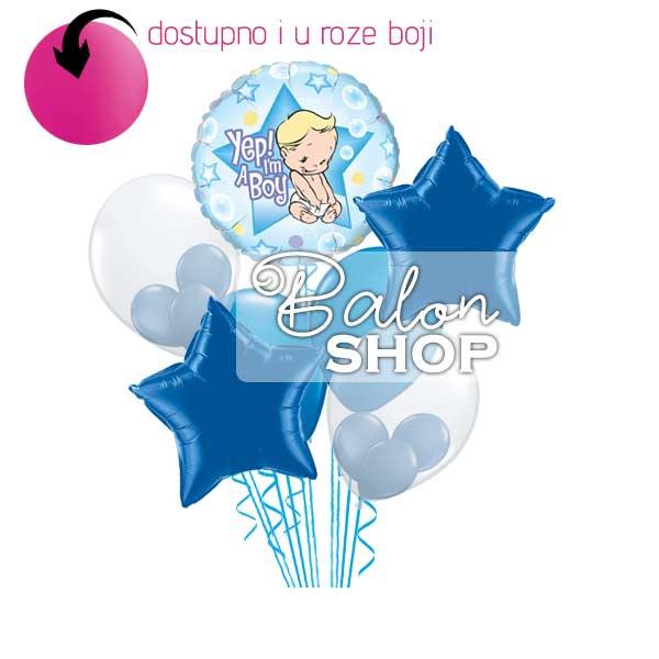 buket balona baby star