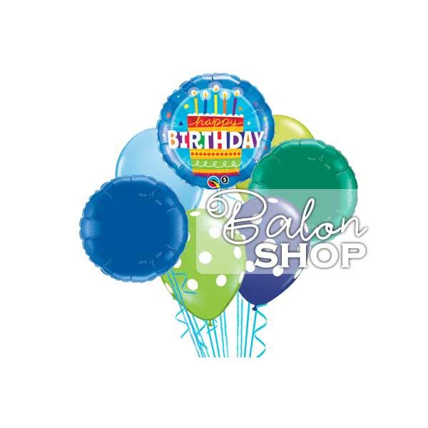 buket balona za njegov rodjendan