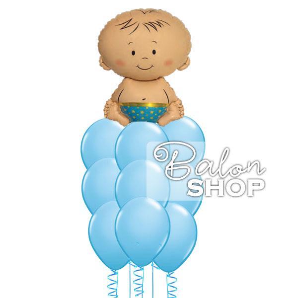 decak beba buket balona