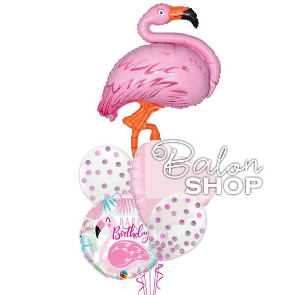 flamingo sa konfetama