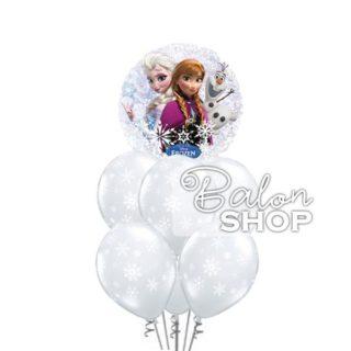 Frozen i pahuljice buket balona