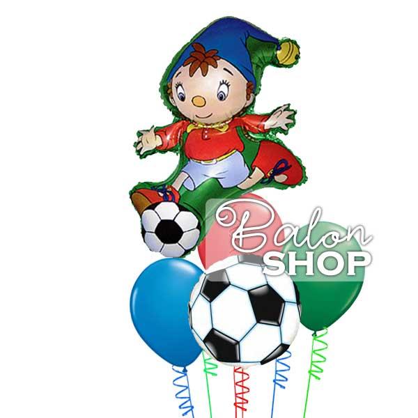 nodi igra fudbal buket balona