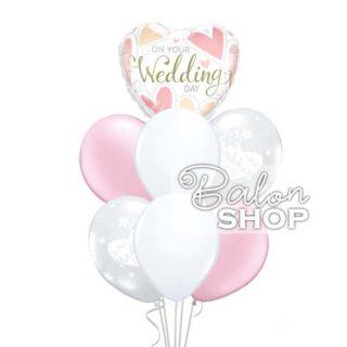 On your wedding day buket balona