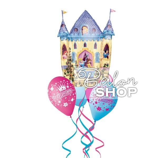 princeze u dvorcu buket balona