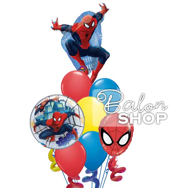 spiderman veliki buket balona