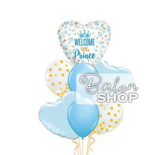 Welcome little Prince buket balona