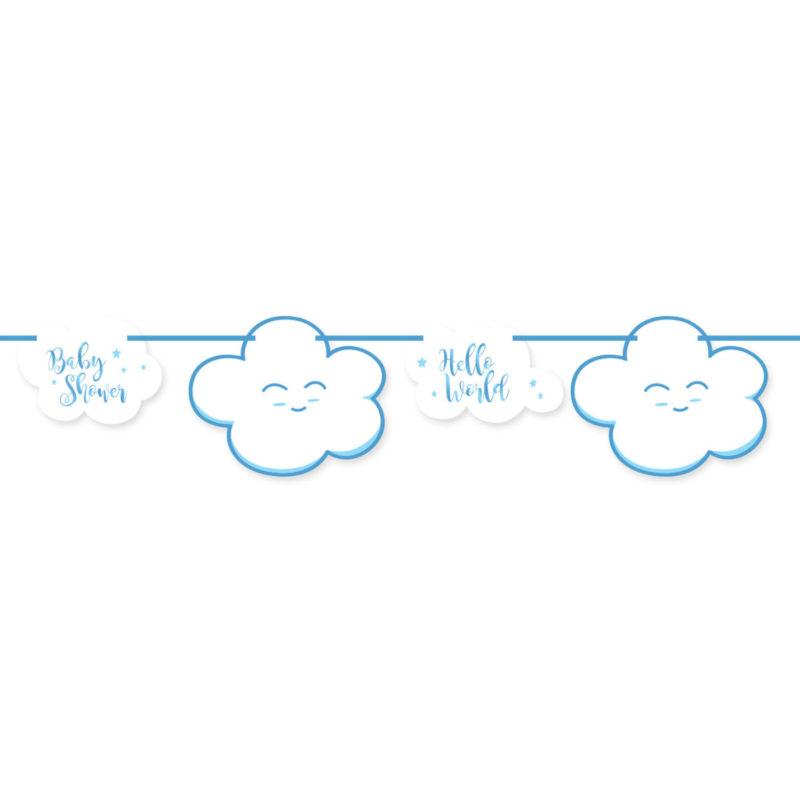 baner oblak plavi