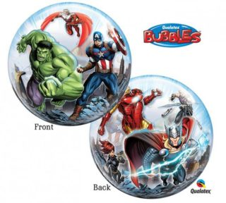 Avengers bubble balon