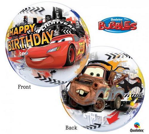 bubble cars balon