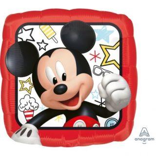 Mickey Mouse crveni kvadrat balon