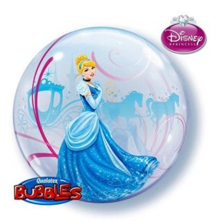 Pepeljuga bubble balon