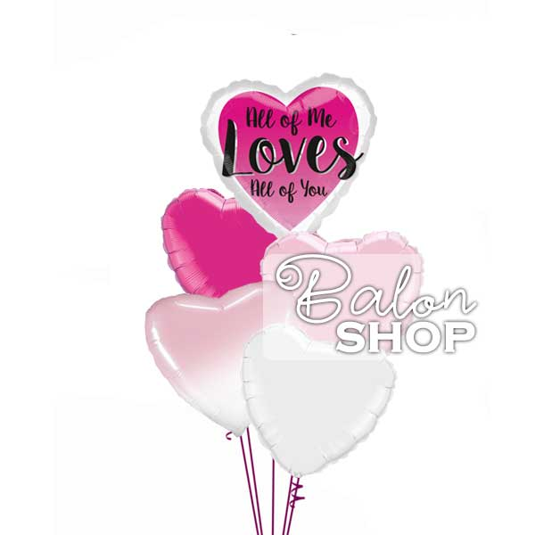 all of me loves all of you buket balona