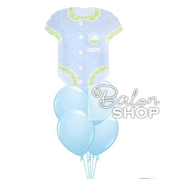 bodic buket za rodjenje decaka