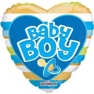Baby Boy srce balon sa prugama