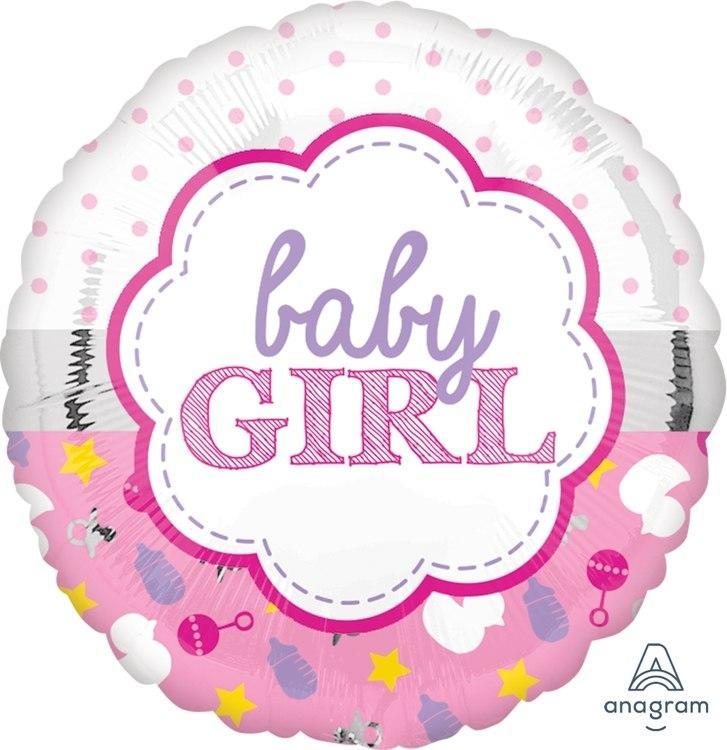 baby girl balon