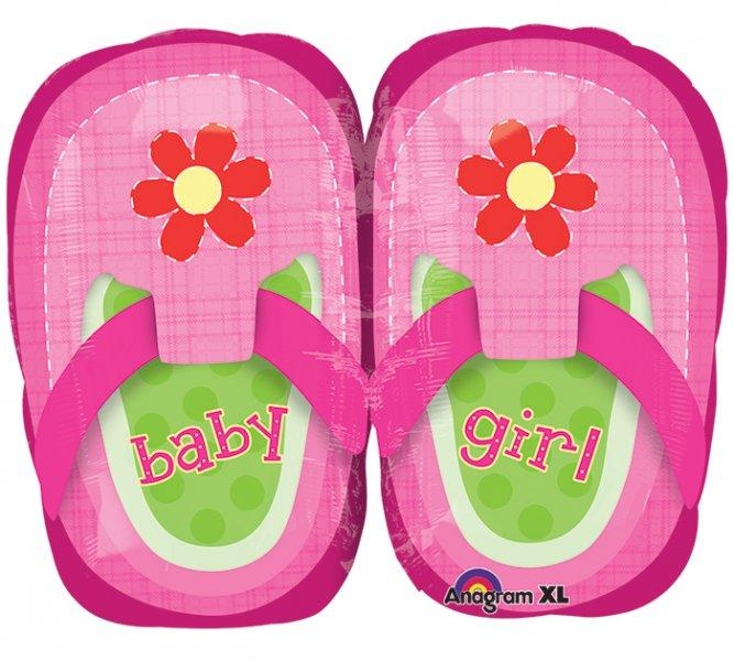 baby girl sandalice balon
