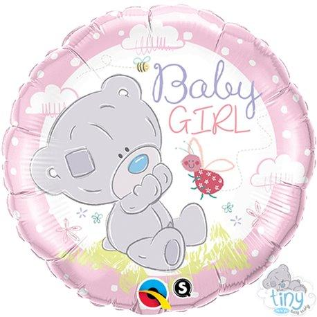 baby girl teddy balon