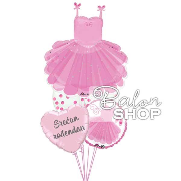 balerina buket balona