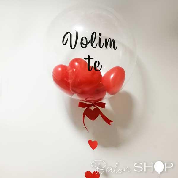 balon sa malim balonima i stampom