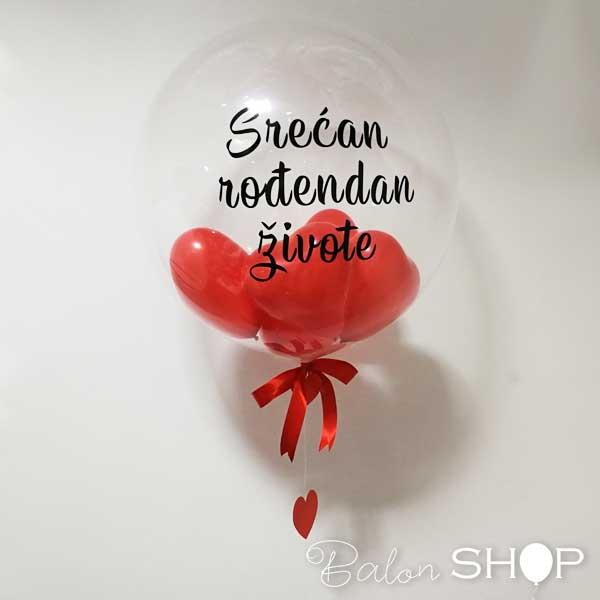 balon sa porukom srecan rodjendan