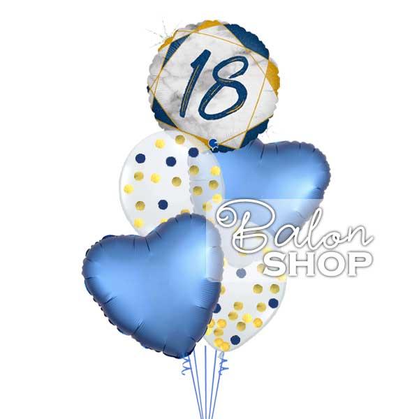 baloni za 18 rodjendan za decake