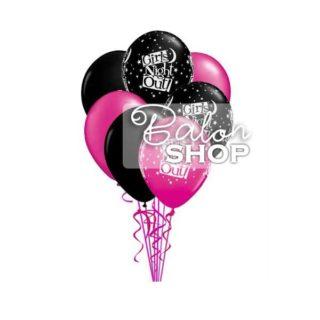 Buket balona Girls Night Out
