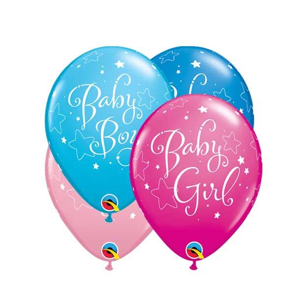 rodjenje bebe gumeni baloni