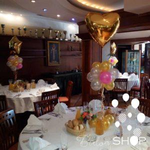 proslava dekoracija stolovi