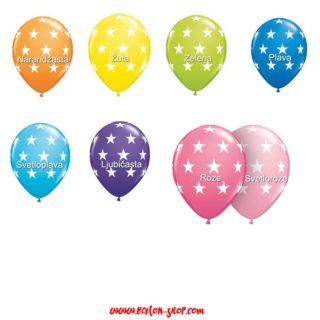 Baloni sa zvezdicama