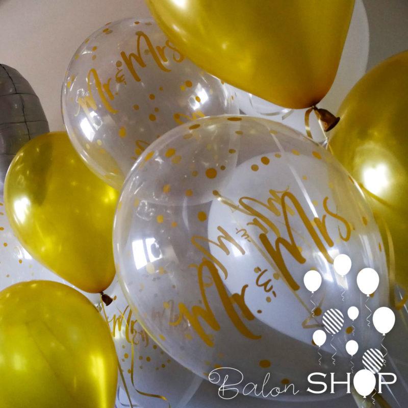 mr i mrs baloni za vencanje