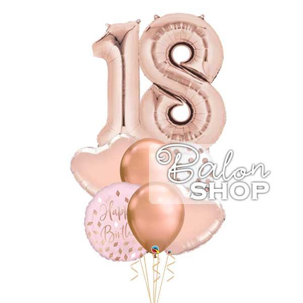 baloni za 18 rodjendan