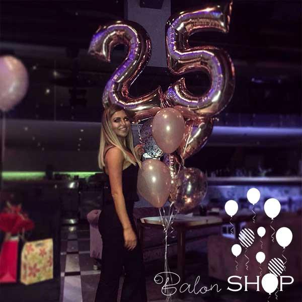 brojevi za rodjendan sa balonima