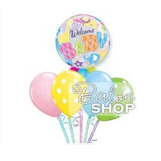 Baloni za rodjenje bebe buketi