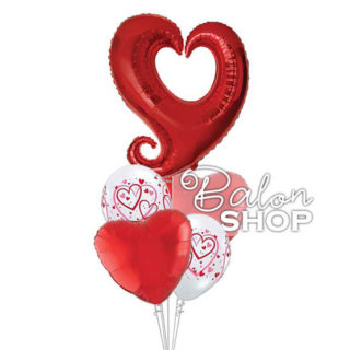 Baloni za zaljubljene BUKETI