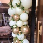 luk od balona za vencanje za svece