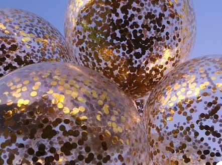 baloni sa konfetema