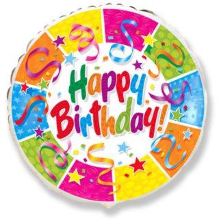 Folija baloni Happy Birthday