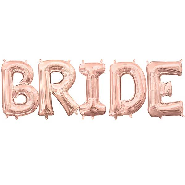 bride slova rose gold